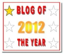 Blog of the Year Award 1 star