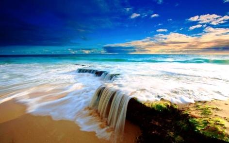 nice day beach